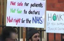 Inghilterra : primo sciopero dei medici degli ospedali