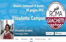SPECIALE ELEZIONI  ELISABETTA CAMPUS ( + Roma per Giachetti ) : lavorare per la solidarietà