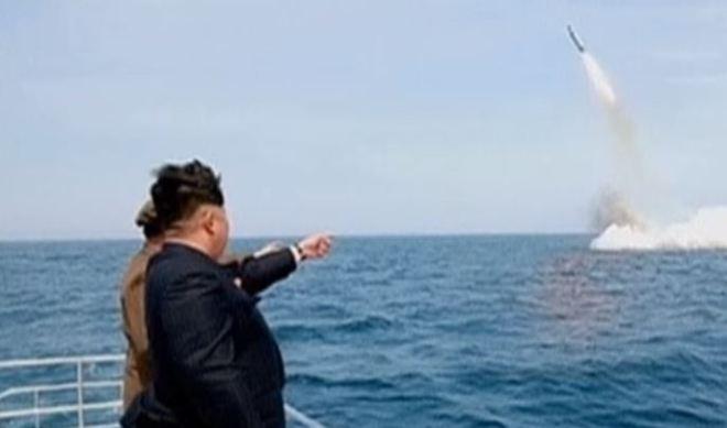 Kim Jong-u a test lancio missile