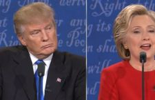 "Hillary "" straccia"" Trump in tv"