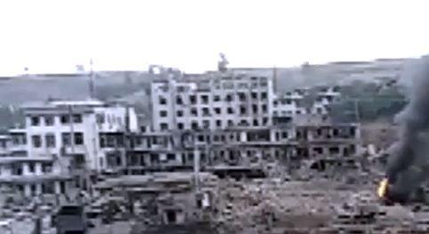 Gli effetti dell'esplosione