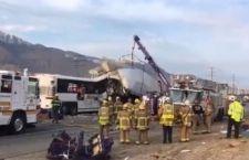California: autobus contro camion. 7 morti