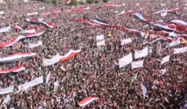 Sanaa: manifestazione a favore governo provvisorio