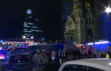Berlino: 12 morti. Camion su mercatino di Natale