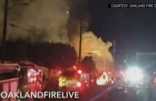 Fino a 40 i morti dell'incendio nel night di Oakland