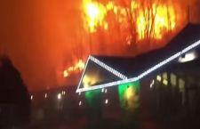 Usa: 10 morti per gli incendi nel Tennessee