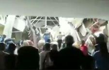 Sud Africa: crolla tetto di ospedale. Cinque dispersi