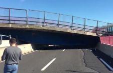 Ancona: 2 morti e 2 feriti per crollo di un cavalcavia su A14
