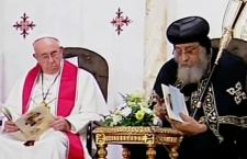 Egitto: Francesco nella chiesa della strage islamista