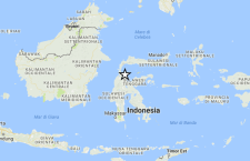 Forte terremoto in Indonesia: 6.2