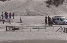 Dramma a Pozzuoli: padre, madre e figlio muoiono inghiottiti dalla solfatara