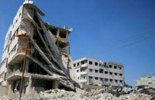 Effetti dei bombardamenti su Ghouta - Damasco