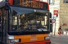 Sciopero trasporto pubblico: venerdì di blocco