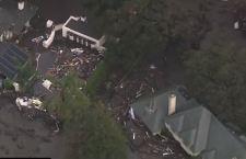 Usa: le frane in California fanno 18 morti. 5 i dispersi