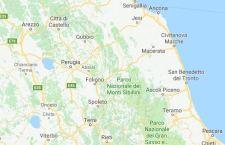 Terremoto a Macerata nella notte: 3.4