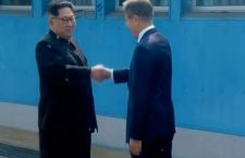 Storico incontro tra Corea del Nord e quella del Sud