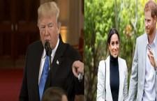 """La strana """"guerra"""" di Mr Trump. Possiamo tornare ad occuparci della Casa reale inglese"""