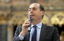 """Nicola Zingaretti nella """"Poltrone e sofà"""" – di Giancarlo Infante"""