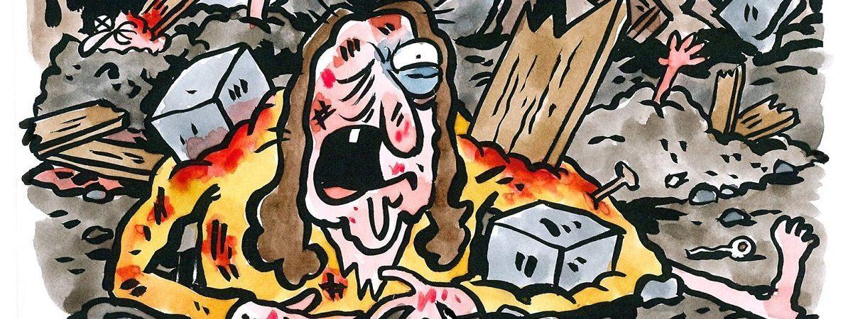 charlie hebdo vignetta terremoto2