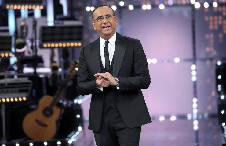 Carlo Conti Baudo gesto standing ovation
