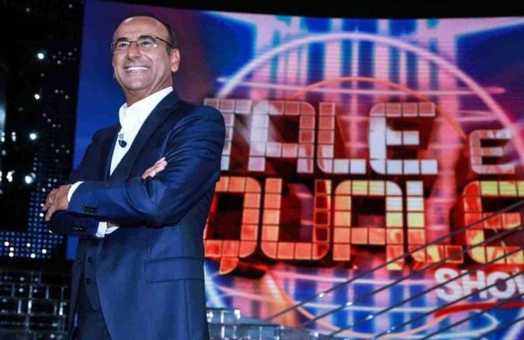 Carlo Conti a Tale e Quale Show