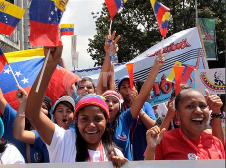 Realizarán Gran Jornada Mundial de Apoyo a la Revolución el 27F
