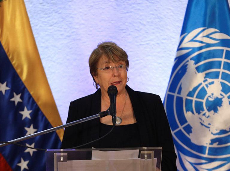 Fundalatin exhorta a Bachellet llamar al cese del bloqueo a Venezuela