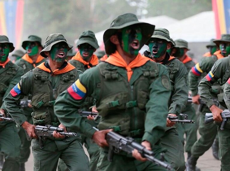 Padrino: Fanb está lista para defender la paz