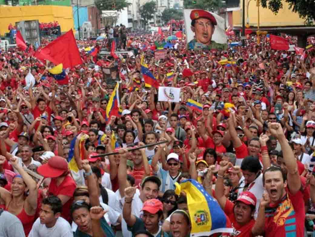 Comenzó Marcha Internacional Antiimperialista