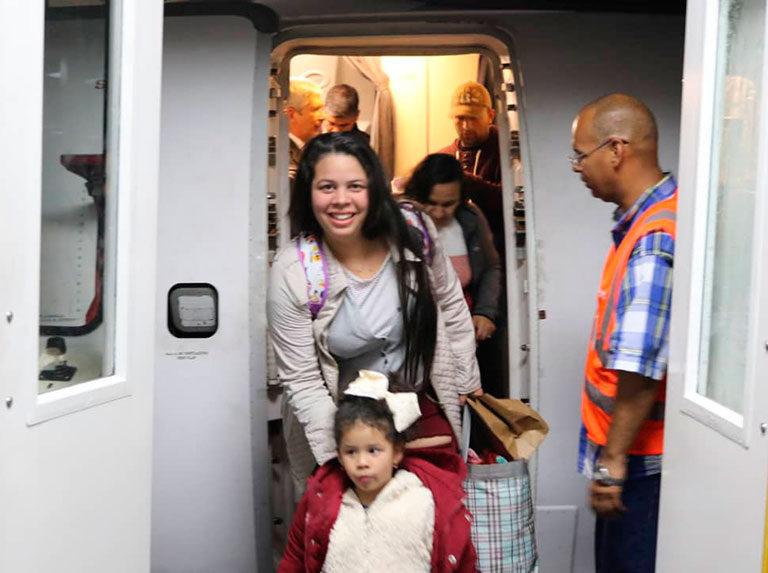 Conviasa es la única aerolínea que hace vuelos humanitarios en el mundo