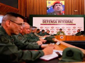 Maduro se reunió con los Comandantes de las Unidades Tácticas de la FANB
