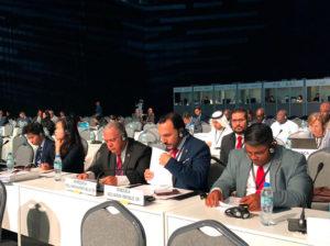 Amoroso denunció ante ONU robo de activos por EEUU y Colombia
