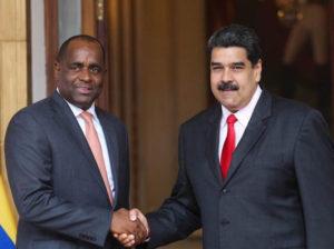 Maduro felicita a Dominica por victoria del Partido Laborista