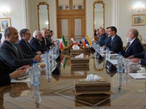 Arreaza sostuvo reunión bilateral en Teherán con su homólogo iraní