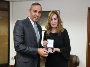 Maikel Moreno destaca cooperación entre TSJ y Palestina