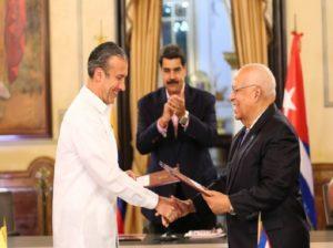 Maduro: Hay que reformatear los convenios entre Cuba y Venezuela