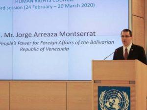 Venezuela insta a la ONU a condenar medidas coercitivas de EEUU