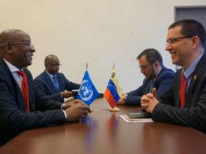Venezuela y Zimbabwe afianzan lazos de cooperación y hermandad
