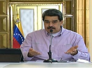 Maduro: dos nuevos casos de covid-19