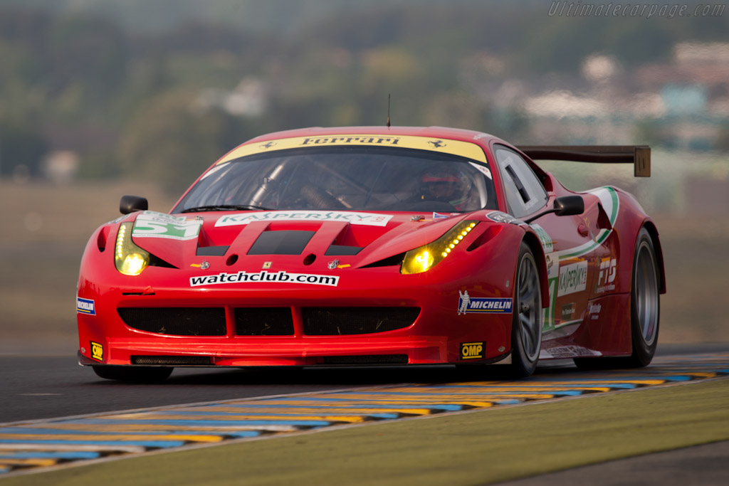 2011 Ferrari 458 Italia GT2 Images Specifications And