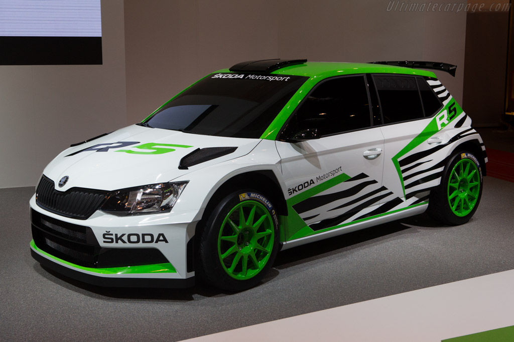 2014 Skoda Fabia R5 Concept Images Specifications And