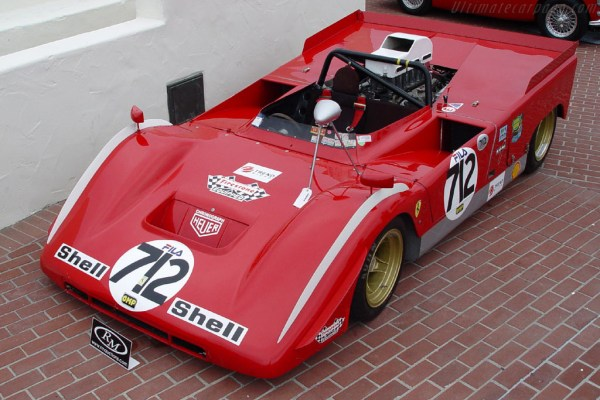1970 - 1972 Ferrari 712 Can-Am - Images, Specifications ...