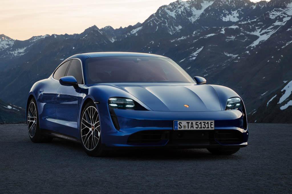 2020 Porsche Taycan Turbo Images Specifications And