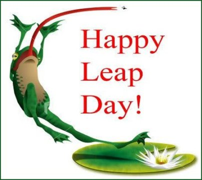 Leap to it!
