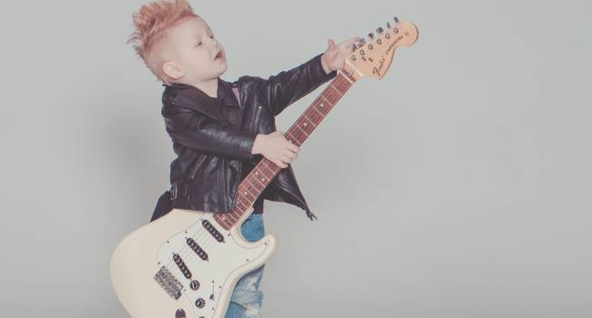 guitar lessons for kid's
