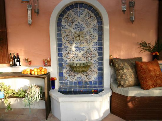 Exotic Moroccan Patios For Courtyards | Ultimate Home Ideas on Moroccan Backyard Design  id=30305