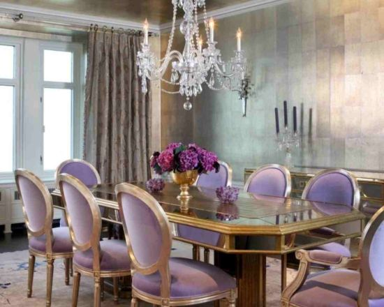 20 Eclectic Purple Dining Room Ideas Ultimate Home Ideas