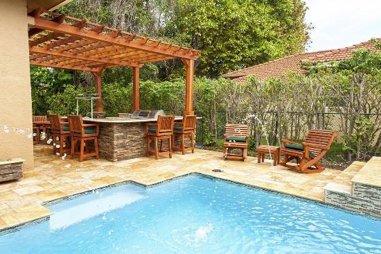 50 Backyard Swimming Pool Ideas | Ultimate Home Ideas on Backyard Pool Bar Designs  id=73707