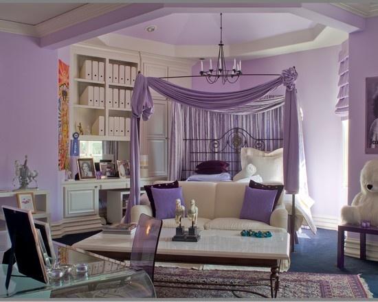 50 Purple Bedroom Ideas For Teenage Girls | Ultimate Home ... on Room For Girls Teenagers  id=83449