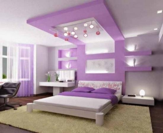 50 Purple Bedroom Ideas For Teenage Girls   Ultimate Home ... on Teenager:_L_Breseofm= Bedroom Ideas  id=62947